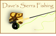 Logo saying Dave's Sierra Fishing