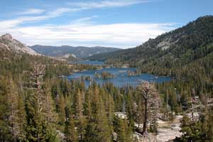 Photo of Echo Lakes in the Desolation Wilderness