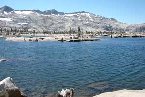 Photo of Lake Aloha in the Desolation Wilderness