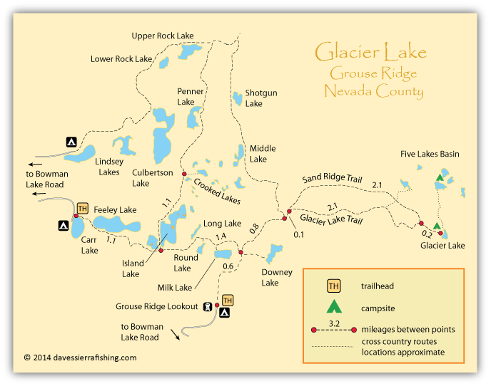 Glacier Lake Map | Dave's Sierra on map of paicines ca, map of likely ca, map of california ca, map of fulton ca, map of santa fe springs ca, map of forbestown ca, map of cedarville ca, map of gold run ca, map of hamilton city ca, map of south lake tahoe ca, map of doyle ca, map of newell ca, map of rancho palos verdes ca, map of soulsbyville ca, map of downieville ca, map of big bear lake ca, map of alta sierra ca, map of san juan capistrano ca, map of norden ca, map of bieber ca,